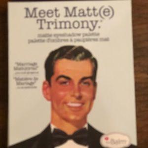 TheBalm Meet Matt(eTrimony Matte Eyeshadow Palette